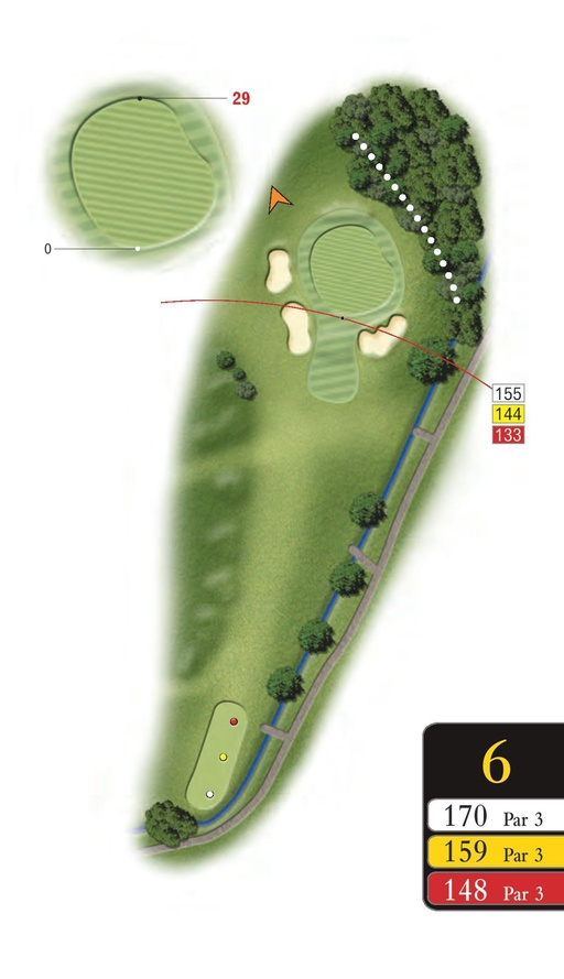 The Park - Hole 6 - Sandford Springs