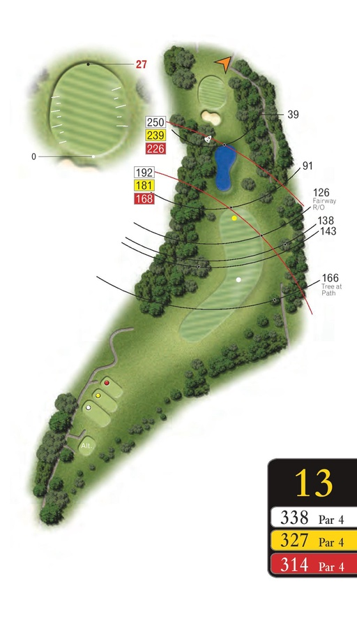 The Woods - Hole 13 - Sandford Springs
