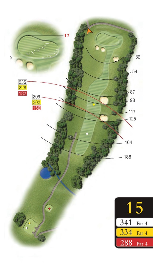 The Woods - Hole 15 - Sandford Springs